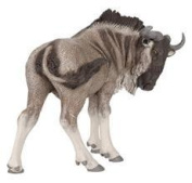 Papo 50101 Gnu Wildebeest Wild Animals