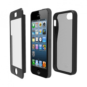 Iluv Iphone5 Case Twain I Two Part Dual - Black - ICA7H328BLK