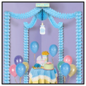 Beistle 54429 Its A Boy Party Canopy