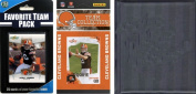 C & I Collectables 2010BROWNSTSC NFL Cleveland Browns Licenced 2010 Score Team Set and Favourite Player Trading Card Pack Plus Storage Album
