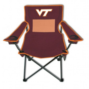 Rivalry Team Logo Picnic Outdoor Events Virgnia Tech Monster Mesh Adult Chair