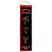 Texas Tech Red Raiders Wool 20cm x 80cm Heritage Banner