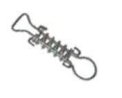 Arctic Armour WS016 Short Stainless Steel Safety Cover Springs
