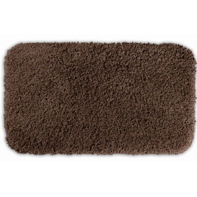 Garland Rug SER-3050-14 Serendipity 30 in. x 50 in. Shaggy Washable Nylon Rug Chocolate