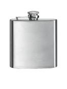 Simran HFM-06 Bar Basics 180ml Matte Stainless Steel Flask - Blister Packed