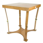 Spiderlegs C3030-WO Spiderlegs Hand Crafted Portable Wooden Folding Cafe Table With a Finish Warm Oak