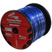 Audiopipe PW025BL Power Wire 0Ga 7.6m Blue