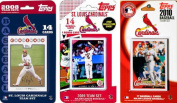 C & I Collectables CARDINALS3TS MLB St. Louis Cardinals 3 Different Licenced Trading Card Team Sets
