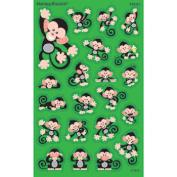 Trend Enterprises Inc. T-46325 Monkey Mischief Supershapes Stickers Large