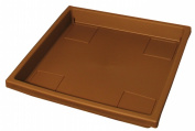 Myers-itml-akro Mils 15.5in. Chocolate Accent Trays SRO15500E21 - Pack of 12