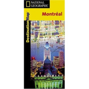 National Geographic DC00622050 Map Of Montreal