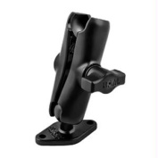 RAM Mount Double Socket Arm w/Diamond Base