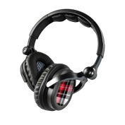 DecalGirl KHP-PLAID-RED KICKER HP541 Headphone Skin - Red Plaid