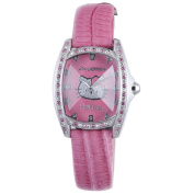 Hello Kitty CT. 7094SS-37 Stainless Steel Pink Leather Watch