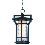 Maxim Lighting 30488WGBO Oakville 1-Light Outdoor Hanging Lantern - Black Oxide