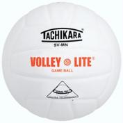 Olympia Sports BA577P Tachikara Volley-Lite Volleyball - White