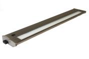 American Lighting 043T-22-BS 55.9cm . Hardwired Fluorescent Under Cabinet Lighting - Brushed Steel