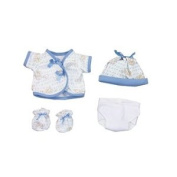 Dexter Toys DEX1505 Blue Clothing with Nappy for 38cm . Baby