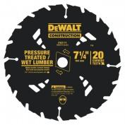 Dewalt Accessories 7-.63.5cm . 18T Portable Construction Blade Carbide Tipped DW3592