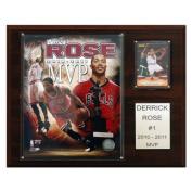 C & I Collectables 1215DROSE11MVP NBA 12 X 15 Derrick Rose 2010-11 NBA MVP Chicago Bulls Player Plaque