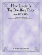 Alfred 00-GOPDM0101 How Lovely Is Thy Dwelling Place- from Requiem - Music Book