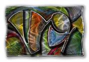 All My Walls ABS00019 Mardi Gras Metal Wall Art