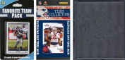 C & I Collectables 2010PATRIOTSTSC NFL New England Patriots Licenced 2010 Score Team Set and Favourite Player Trading Card Pack Plus Storage Album