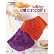 Leisure Arts Holiday Knit Dishcloths