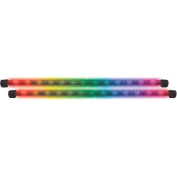 Audiopipe NL3015 Pipedream 38cm LED Twin Rods Multi Colour Built In Memory Chip