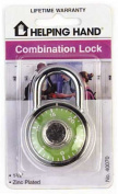 Helping Hands Combination Padlock 40070 - Pack of 3