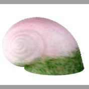 Meyda Tiffany 11715 12.7cm W X 15.2cm L Pink/Green Pate-De-Verre Snail Shade