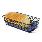 Spectrum 39110CAT Scroll Bread Basket - Black