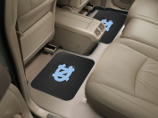 Ncaa University of North Carolina - Chapel Hill Black Heavy Duty 2-Piece 36cm . x 43cm . Vinyl Utility Mat