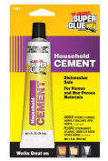 Super Glue Corp. T-HCT12 Household Cement- Pack of 12
