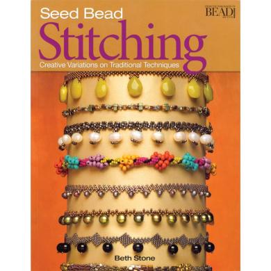 Kalmbach Publishing Books-Seed Bead Stitching