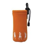 ProActive Sports SNBH001-ORG Neoprene Bottle Holder with Golfer in Orange