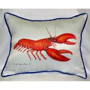 Betsy Drake HJ081 Lobster Art Only Pillow 15x22