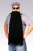 Costumes For All Occasions RU2053BK Mohair 25 Inch Black Beard