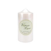 Darice 252765 Pillar Candle 2-. 220cm x 15cm -Pearlescent White
