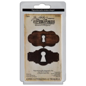 Sizzix Movers And Shapers Repositionable Magnetic Die, Tim Holtz Alterations, Keyholes
