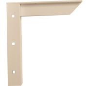 A & M Hardware AMC18 W Concealed Shelf Sprt Bracket 45.7cm . - White