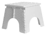 B & R Plastics 101-6TT Assorted Colours EZ Foldz Step Stool