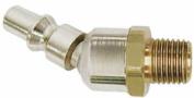 Acme Automotive ACMA918N4BS Ball Swivel Air Hose Plug- .25 x .25 Male threads- ARO interchange-A style