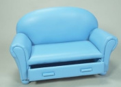 Gift Mark Upholstered Chaise Lounge with Pull Out Drawer
