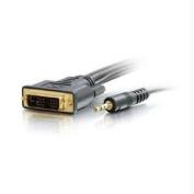 C2G 41248 100FT PRO SER100FT PRO SERIES DVI-D PLUS 3. 5MM CL2 M-M SINGLE LINK DIGITAL VIDEO CA