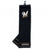 Team Golf MLB Milwaukee Brewers Embroidered Golf Towel