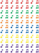Creative Teaching Press CTP7162 Music Notes Hot Spots Stickers