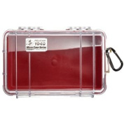 Pelican 330806 1040 Micro Case - Red-Clear