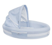 Lulyboo BLFBD001 BABY LOUNGE BLUE DOTS
