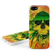 DecalGirl AIP5C-HTSKULL DecalGirl Apple iPhone 5 Hard Case - Hot Tribal Skull